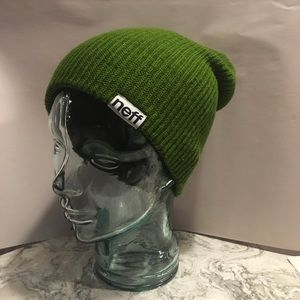 Neff Forest Green Beanie Hat